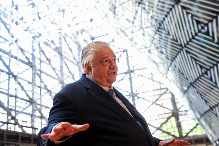 Paul Oquist, Nicaraguas Minister für nationale Politik in Brüssel, 17. Juli 2018 / AFP