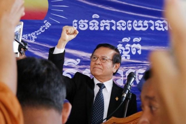 Kem Sokha le 9 septembre 2016 à Phnom Penh.