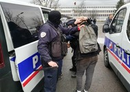 146 people were arrested by police on Thursday, December 6th in front of a high school ...