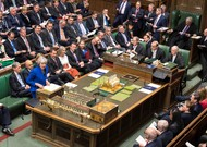Theresa May speaks in the House of Commons on December 19, 2018.