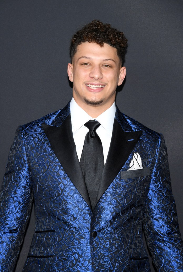 Kansas City quarterback Patrick Mahomes named best player (MVP) of the 2018-19 season of the National Football League (NFL) in Atlanta, GA on February 2, 2019 / GETTY IMAGES NORTH AMERICA / AFP