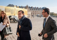Carlos Ghosn at the Palace of Versailles, October 10, 2016.