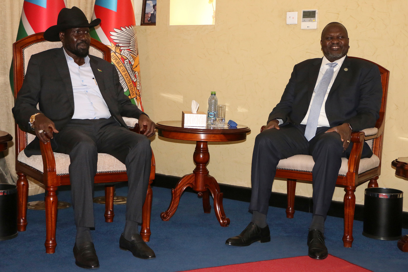 Union government re-formed in South Sudan