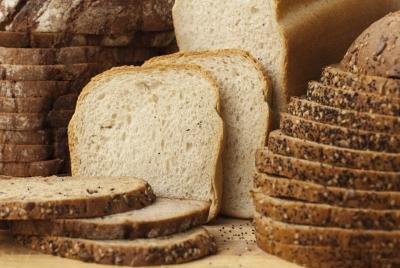 Most breads contain gluten.