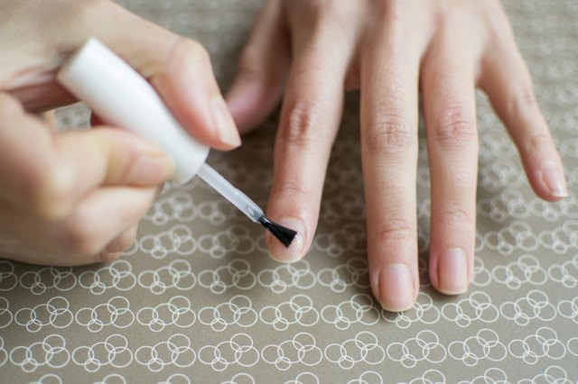 How To Paint Your Nails Without Getting Polish On Fingers Vaseline Manicure Tip