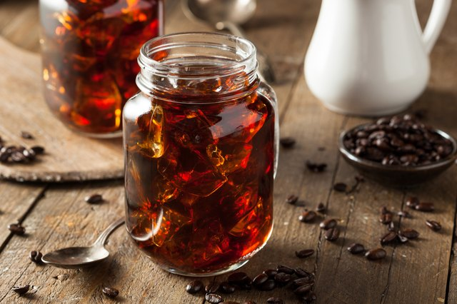 Health claims include lower caffeine and acidity.