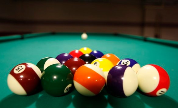 What Is the Proper Way to Rack Pool Balls    LIVESTRONG COM What Is the Proper Way to Rack Pool Balls