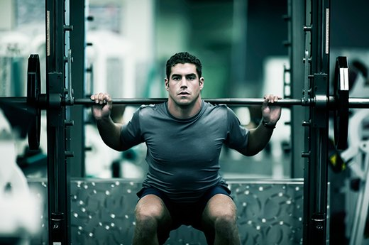 7. Barbell Squat Twice Your Body Weight