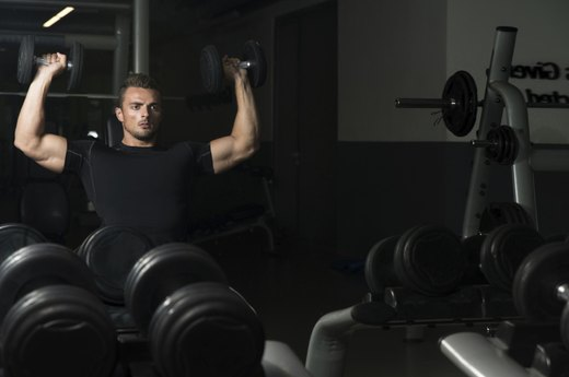 4. Replace Overhead Press Machine With Overhead Dumbbell Press