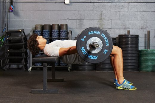 8. Complete 10 Barbell Hip Thrusts With 150 Percent of Your Body Weight