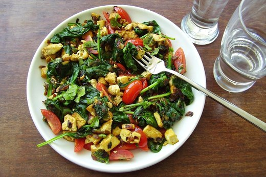 3. Vegan Curry Sunrise Scramble