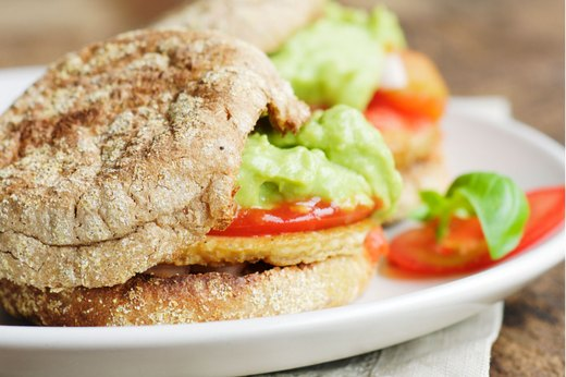 6. If You Like a Bagel…Try an Avocado and Tomato English Muffin