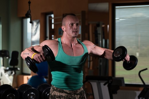 10. Replace Shoulder Raise Machine With Lateral Dumbbell Raise