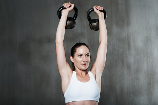 10. Kettlebell Training Stabilizes Your Shoulders