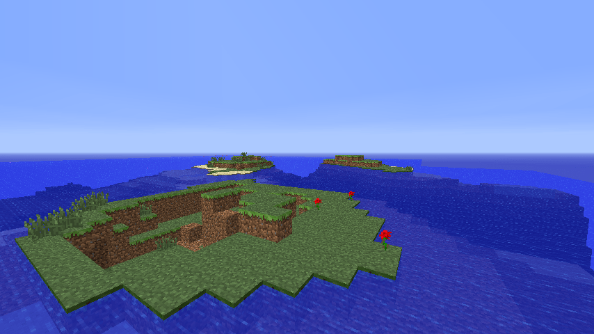 Small Islands In The Ocean Seed Azminecraftinfo