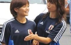 エロ目線で見るなでしこジャパン・女子サッカー選手の画像