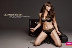海外のスタイル抜群な美しい下着モデルの画像