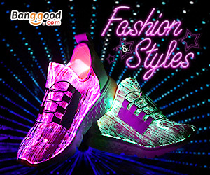 USB Colorful Light Shoes