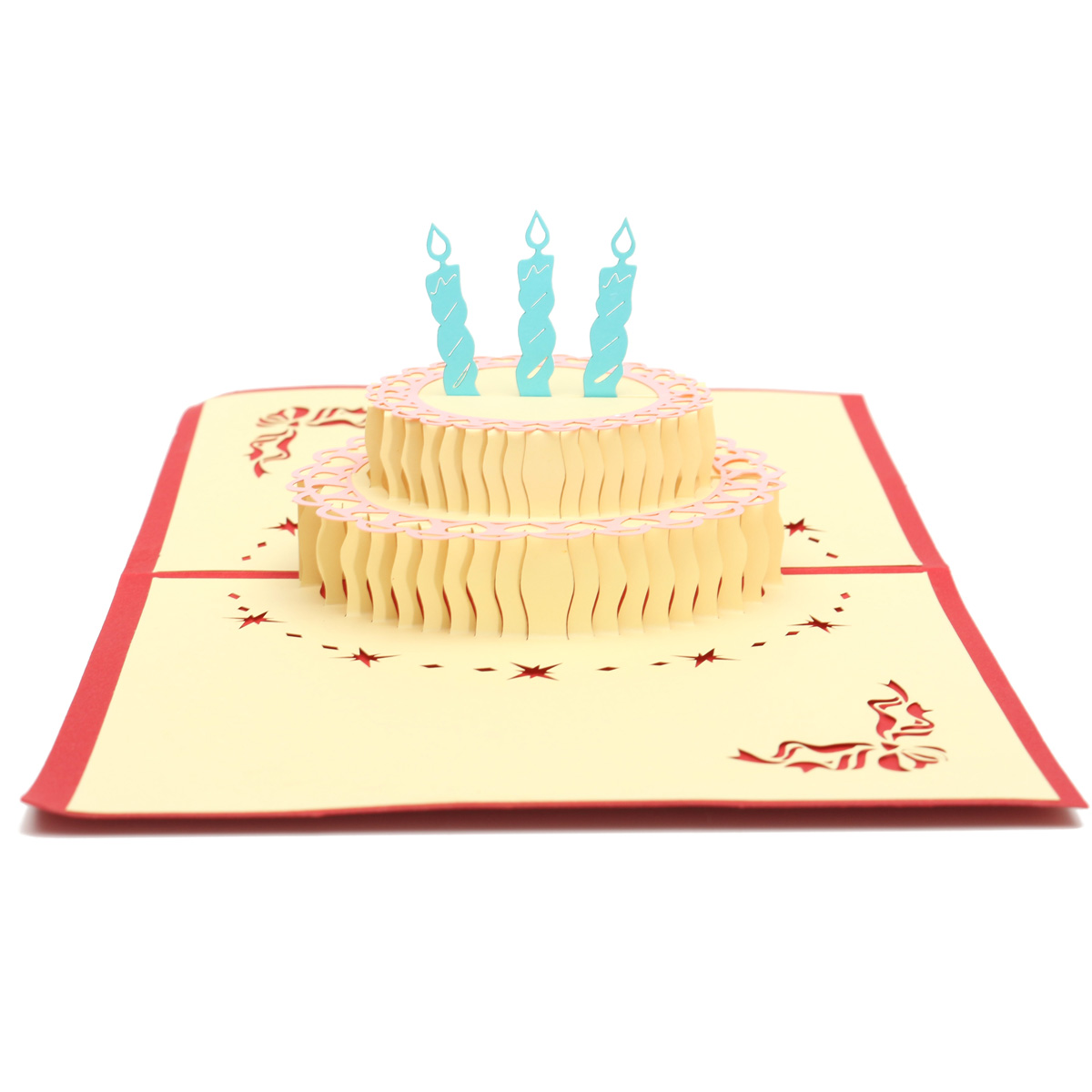 Paper Pop Birthday Cake