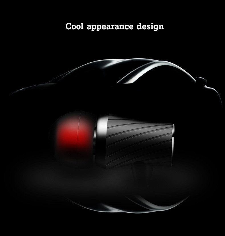 FONGE D03 3.5mm In-ear Heavy Bass Wired Control Earphone Headphone With Mic