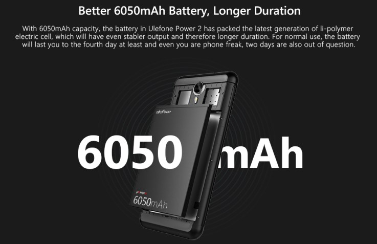 Image result for Ulefone Power 2