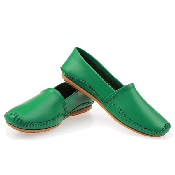 Laides Flat Shoes Casual Slip On Flats Soft Sole Loafers Round Toe Flat Loafers