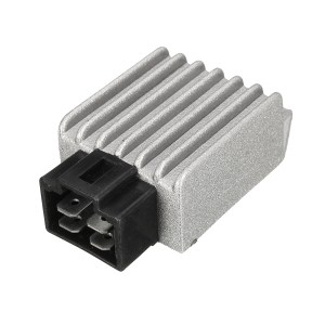 4 Pin 12V Voltage Regulator Rectifier For GY6 50cc 125cc 150cc Moped Scooter ATV Sale  Banggood