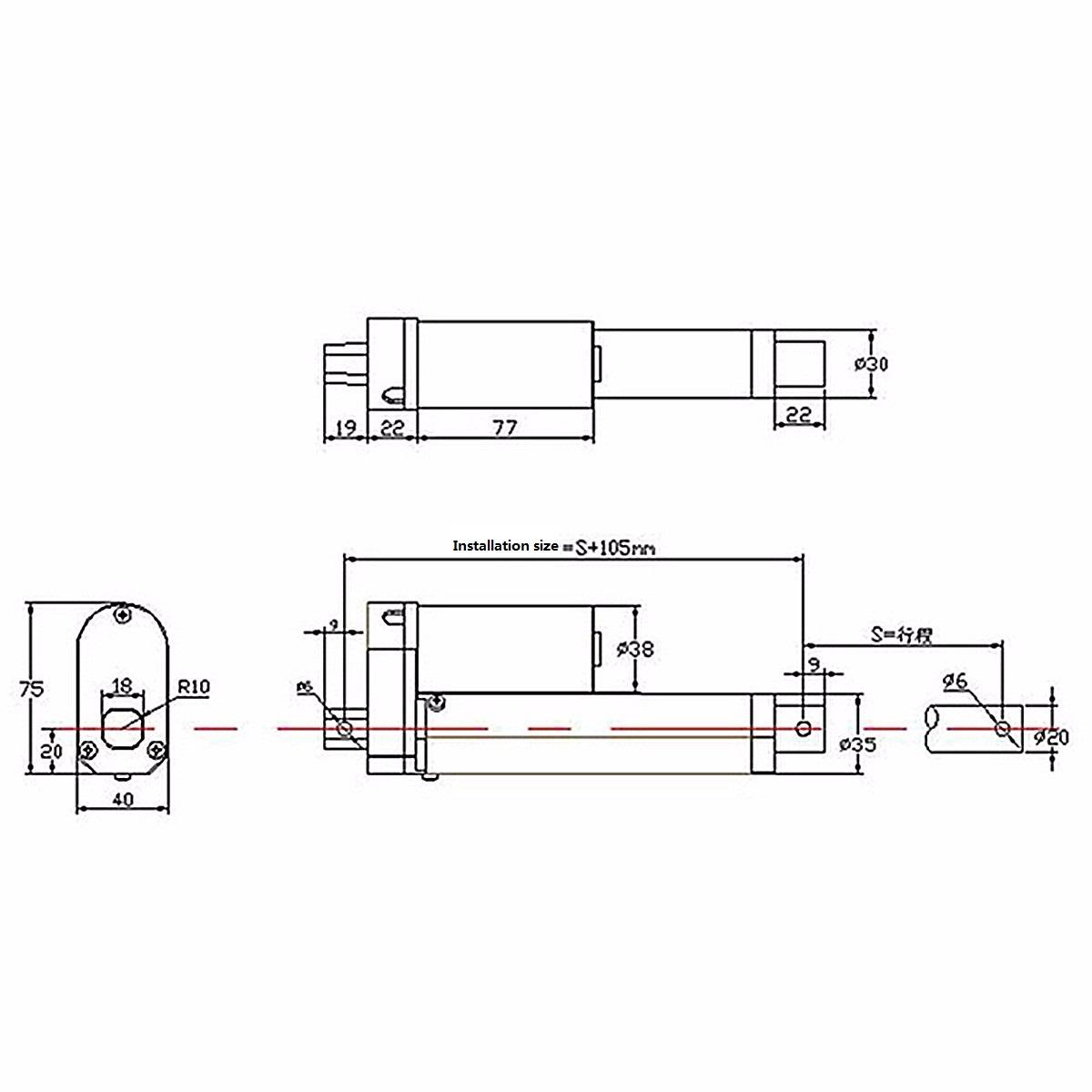 12 Volt Actuator Wiring Diagram