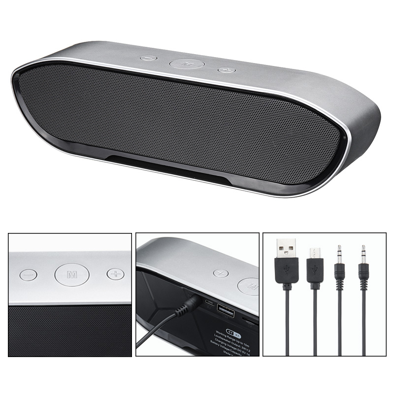 CY-01 Wireless Bluetooth Speaker 3D Stereo TF Card USB Play Outdoors Subwoofer for iPhone Xiaomi 43