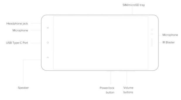 Xiaomi Mi A1 MiA1 Dual Rear Camera 5.5 inch 4GB RAM 64GB Snapdragon 625 Octa core 4G Smartphone