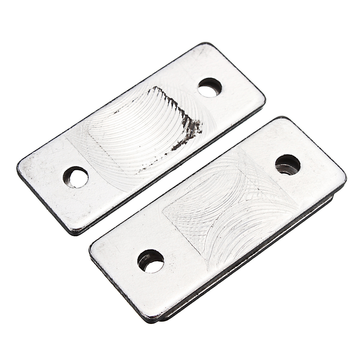 2pcs Magnetic Catch Latch Ultra Thin For Glass Door