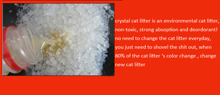 Longfeng Crystal Cat Litter Strong Absorption Deodorization Cat