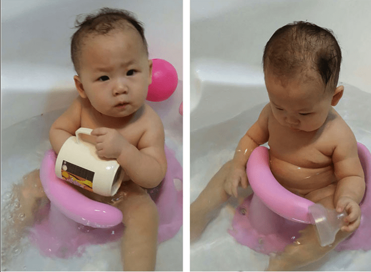 4 Colors Baby Bathtub Ring Seat Infant Children Shower Toddler Kids Anti Slip Security Safety