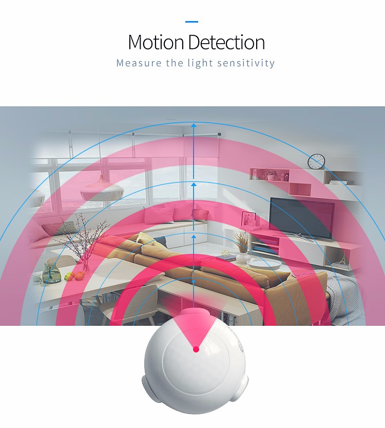 NEO NAS-PD01Z Z-wave PIR Motion Sensor Home Automation Compatible With Z wave System 300 Series And 500 Series 13