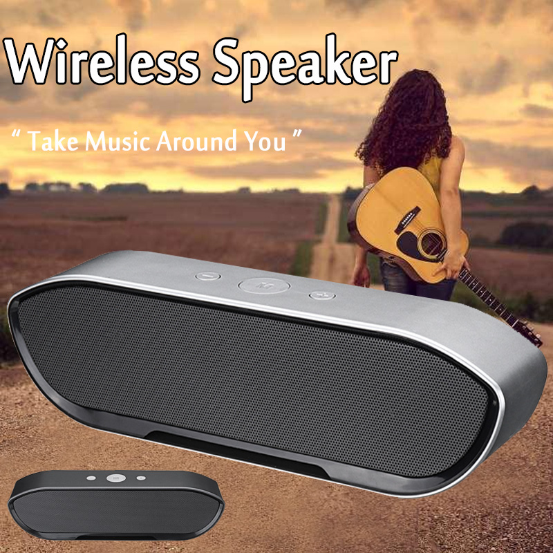 CY-01 Wireless Bluetooth Speaker 3D Stereo TF Card USB Play Outdoors Subwoofer for iPhone Xiaomi 35