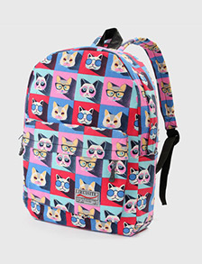 Cartoon Cat Backpack New Chic