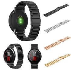 Braceletenacierinoxydable22mmen acier inoxydable Bracelet rembourré Bande Pour Xiaomi Huami Amazfit