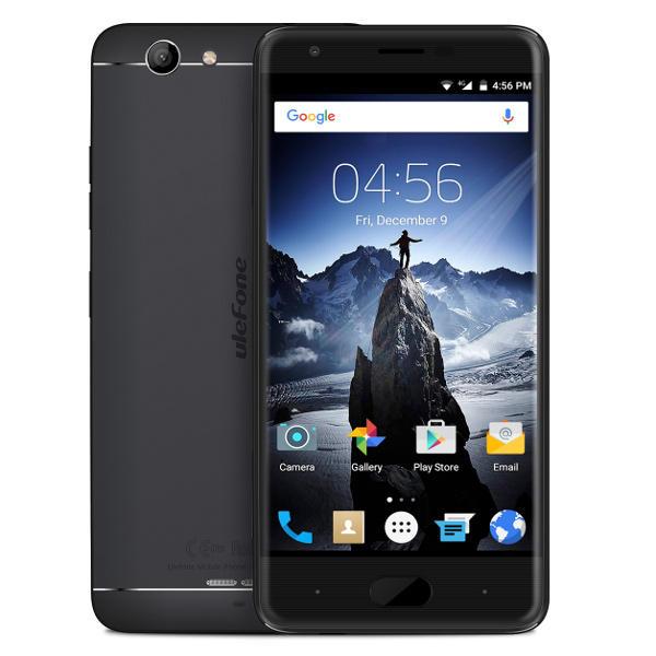 banggood Ulefone U008 Pro MTK6737 1.3GHz 4コア BLACK(ブラック)