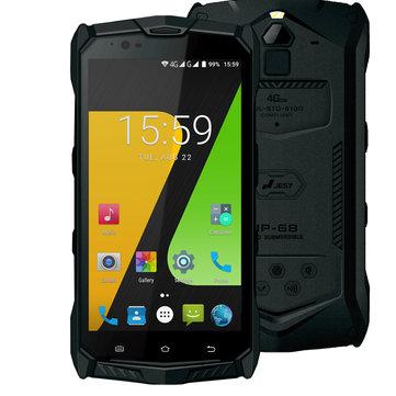 JESY J9S 5.5 inch IP68 Android 7.0 4GB RAM 64GB ROM MTK6755 Octa Core 4G Smartphone