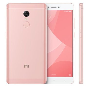 Xiaomi Redmi Note 4X 5.5-inch 3GB RAM 32GB Snapdragon 625 Octa-core 4G Smartphone Pink