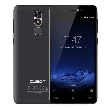 Cubot R9 5-inch Fingerprint 2GB RAM 16GB ROM MT6580 Quad-Core 3G Smartphone