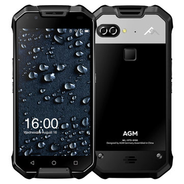 AGM X2 5.5'' AMOLED IP68 12MP Dual Rear Cameras 6GB RAM 64GB ROM Snapdragon 653 6000mAh Smartphone