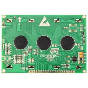 12864 128 x 64 Graphic Symbol Font LCD Display Module For