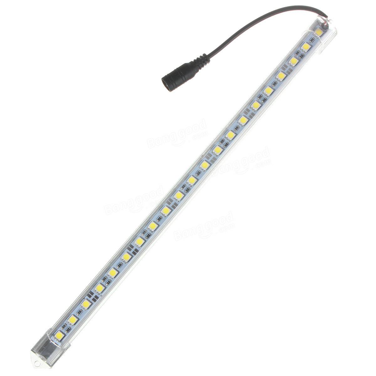 5w 30cm Dc12v 21smd Led Aluminum Alloy Shell Under Cabinet Tube Bar Strip Light Sale