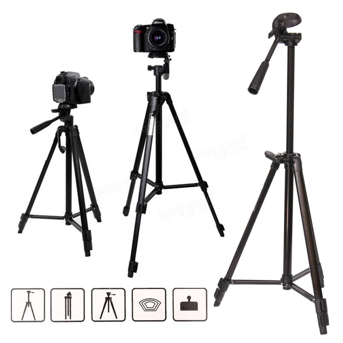 Zhuoyue Portable 54 Inch Tripod Stand With 360 Degree