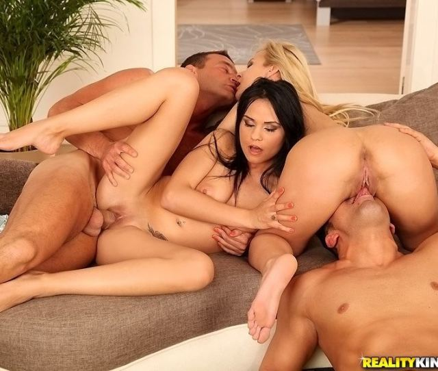 Aida Sweet And Kelly White Have A Hot Foursome Main Image