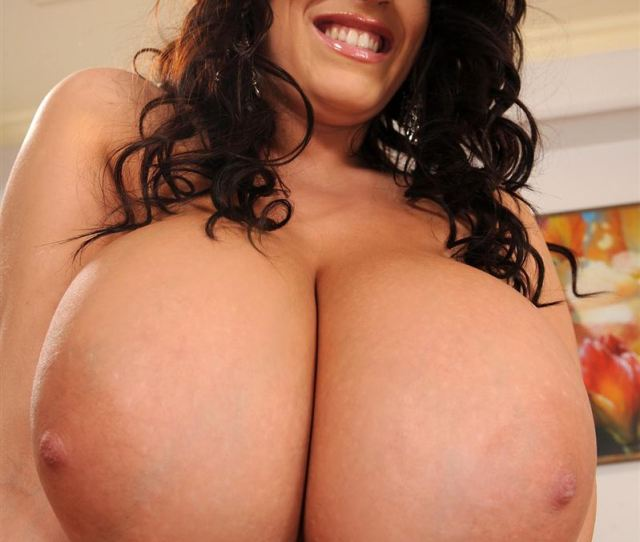Leanne Crow Shows Off Her Giant Tits In Nude Stockings Main Image