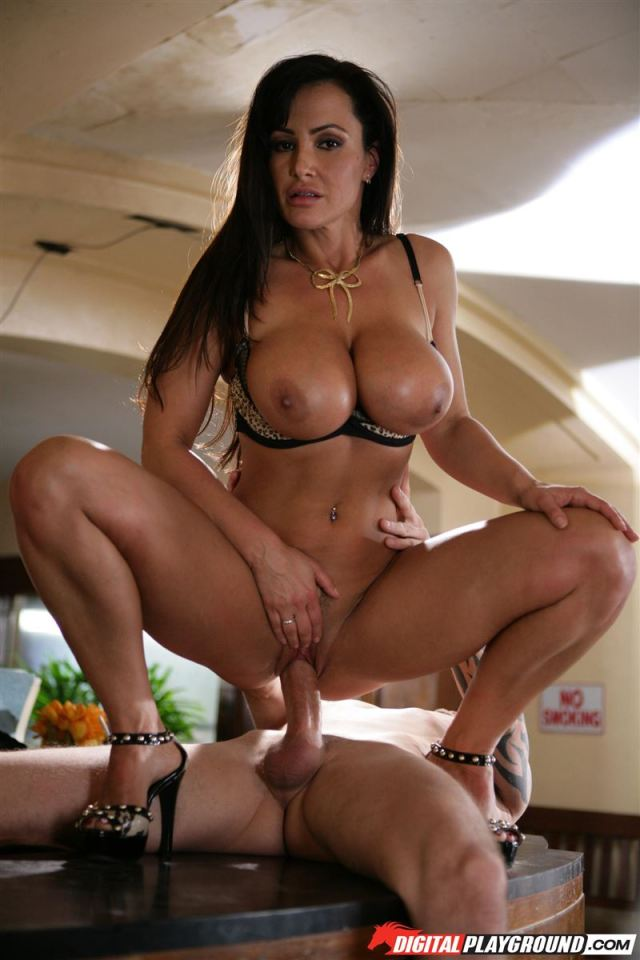Lisa Ann Busty Receptionist Rides Cock On Her Desk Main Image