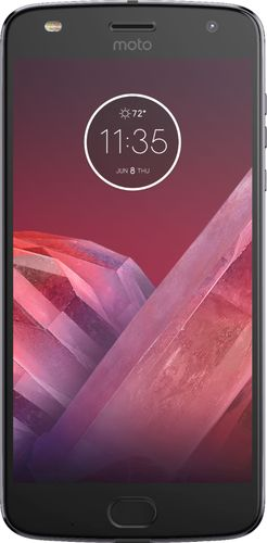 Motorola - Moto Z2 Play 32GB - Lunar Gray (Verizon)
