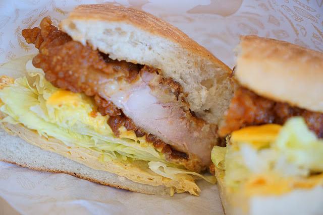 台中人氣早午餐│沒那個屁股,就不要來吃早安公雞新上市的火爆公雞老麵堡約訪